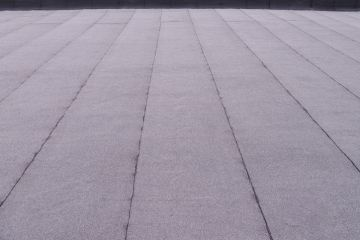 Flat roof by Chris Normile Roofing