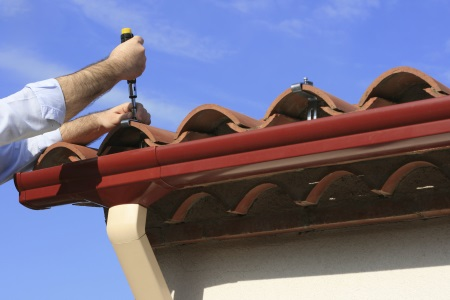 Gutters & downspouts by Chris Normile Roofing