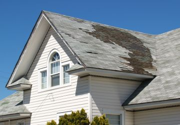 Roof repair after storm damage by Chris Normile Roofing