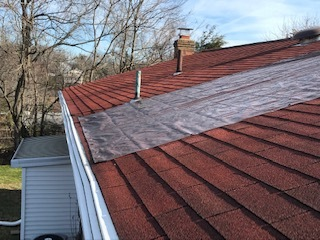 Ellicott City roof repair by Chris Normile Roofing